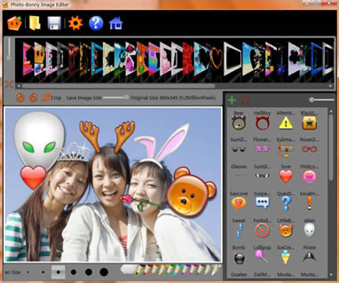 Click to view Photo-Bonny Image Viewer and Editor 2.12 screenshot