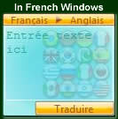 In francese di Windows